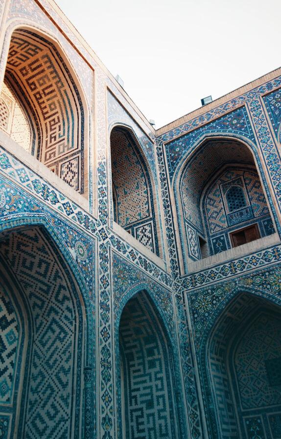 10 мест в Узбекистане