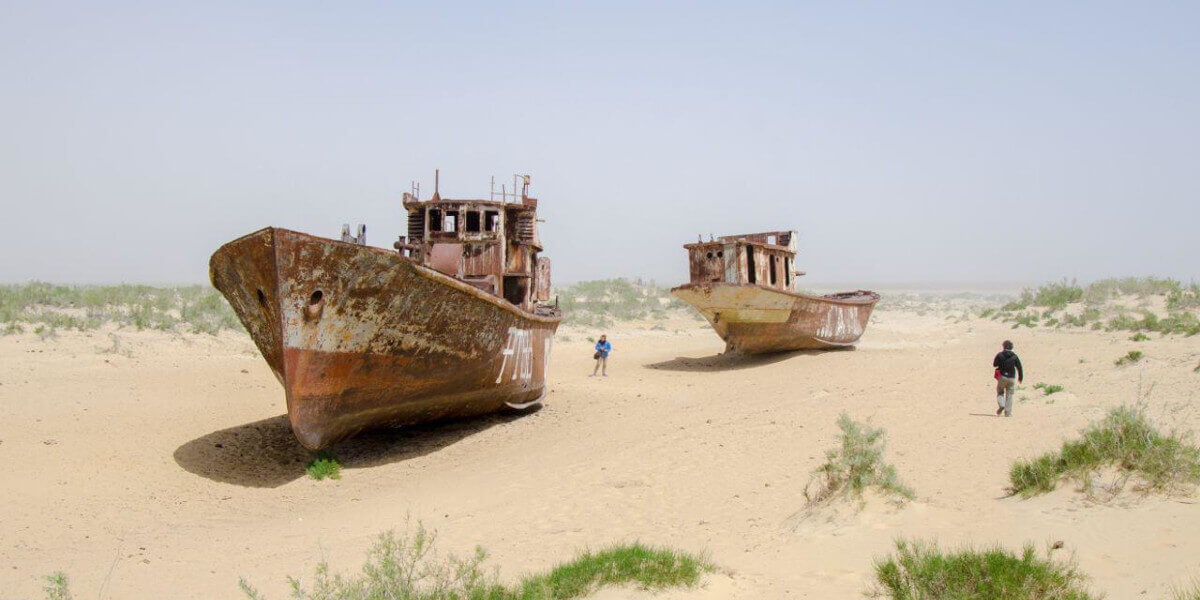 Аралськое море кладбище кораблей