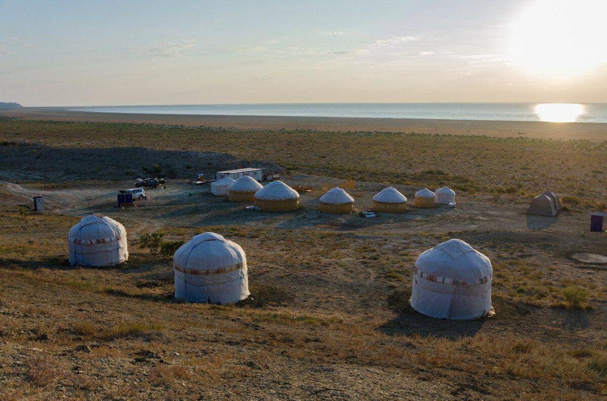 Аральское море юртовый лагерь