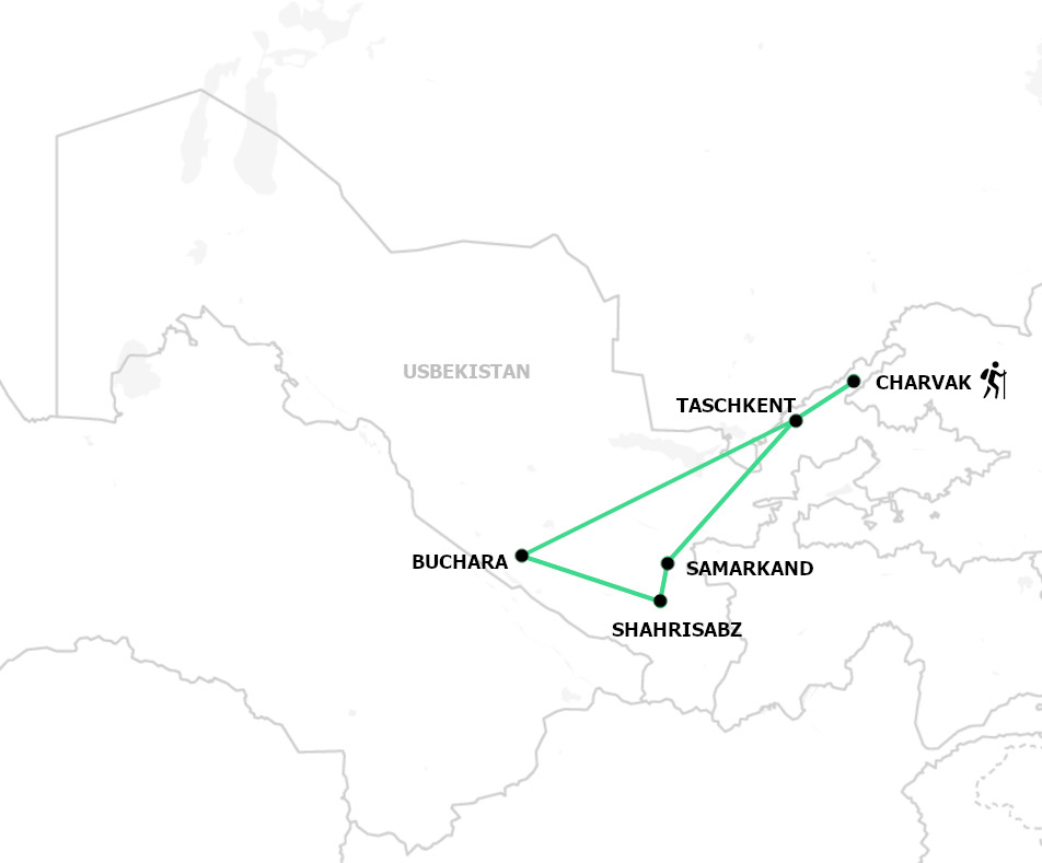 Kurze Wanderreise Usbekistan