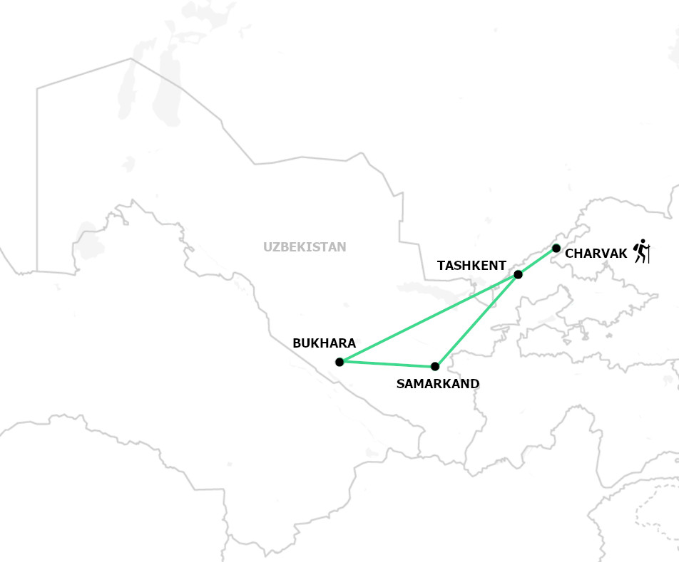 Tour to Uzbekistan with hikebekistan EN