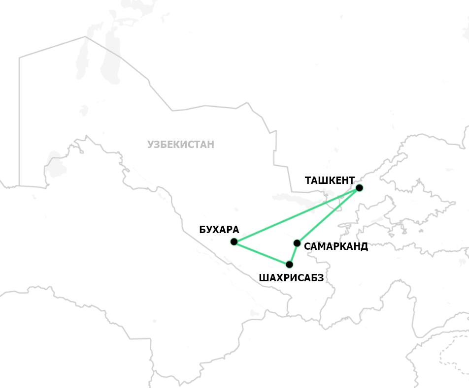Тур по Узбекистану по следам караванов