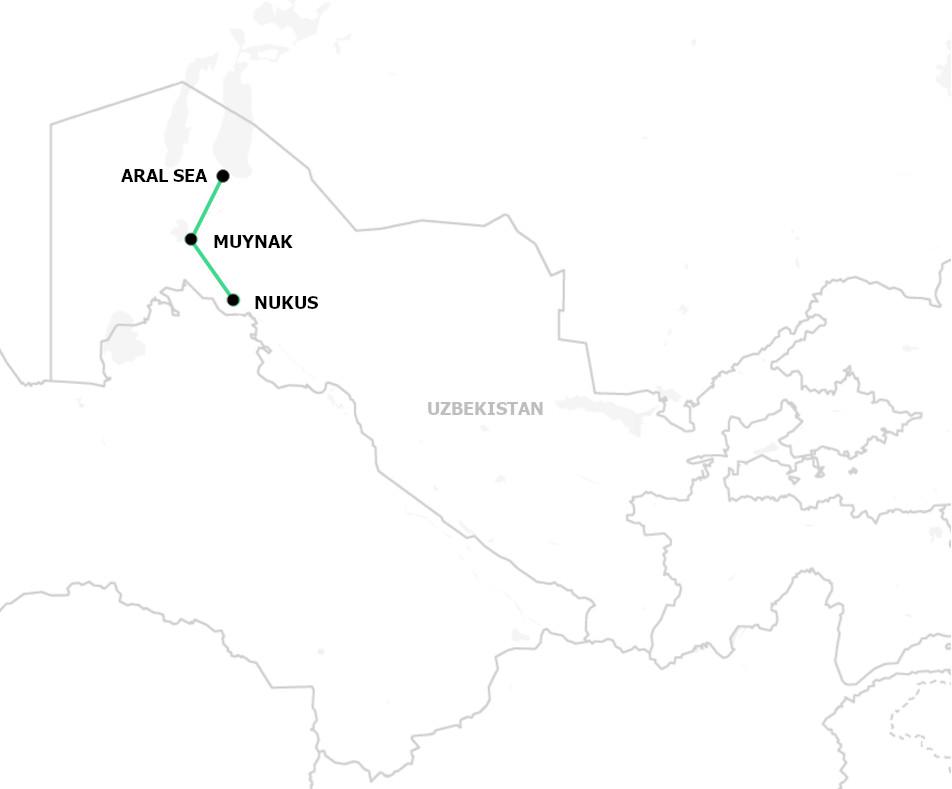 Aral Sea adventure