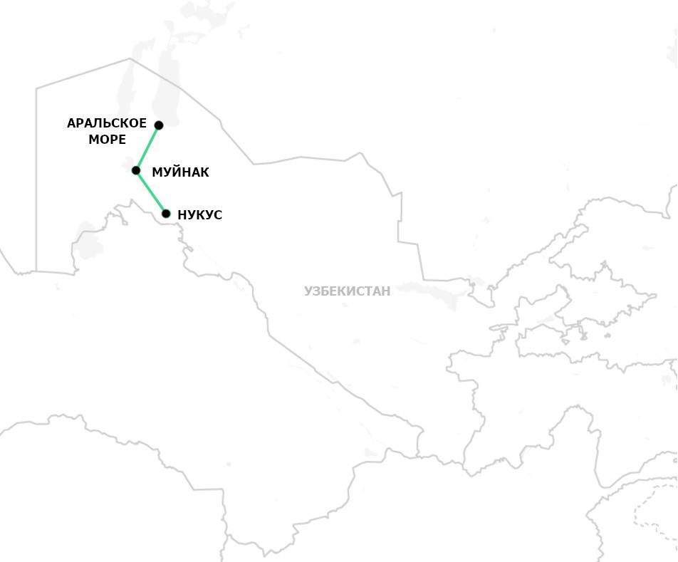 Тур к Аральскому морю
