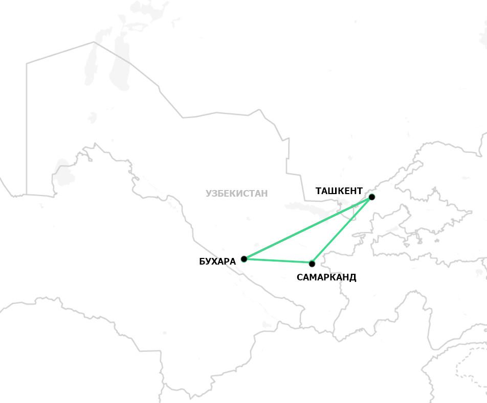 Тур в Самарканд и Бухару