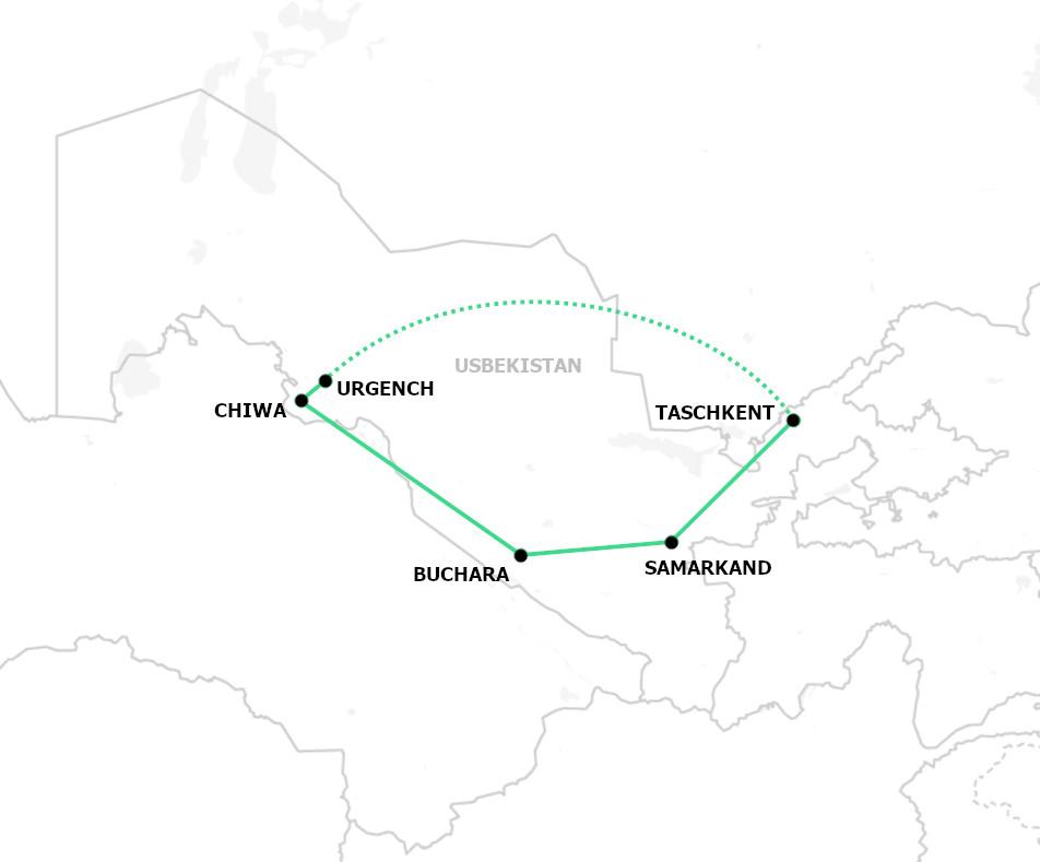 Klassische Rundreise Usbekistan
