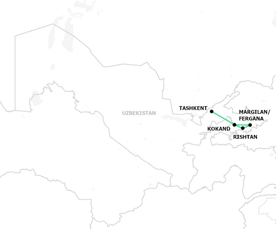 Tour to Fergana valley