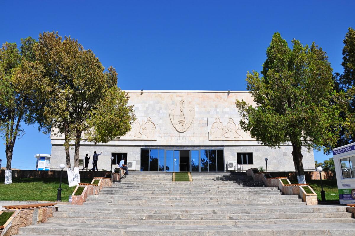 Afrasiab museum Samarkand