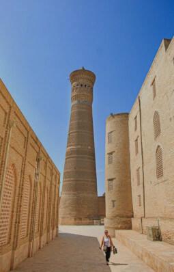 beste reisezeit Usbekistan