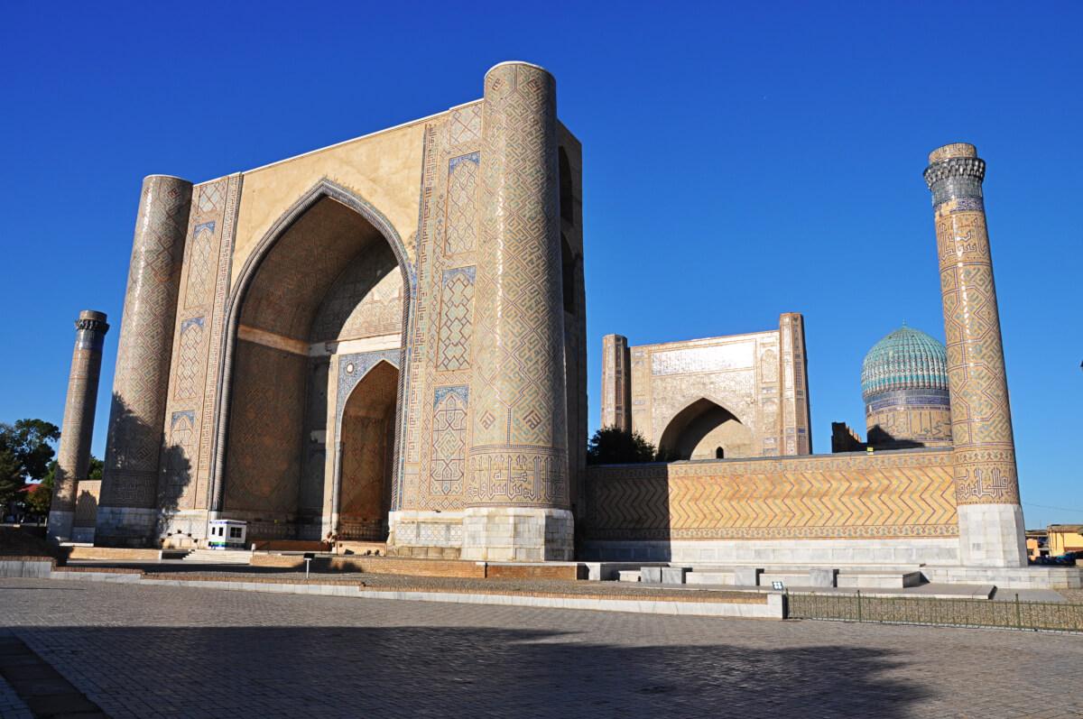 Bibi khanim moschee.Samarkand
