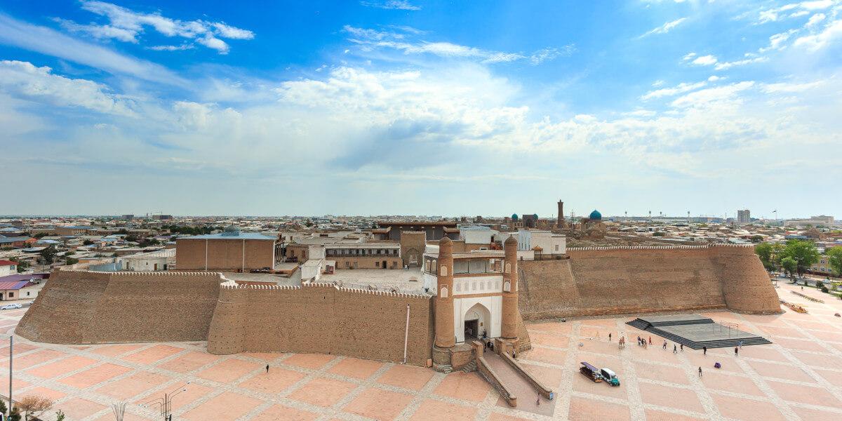 Bukhara Ark fortress