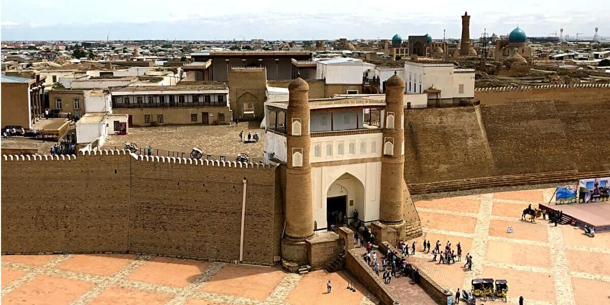 Zitadelle Ark, Buchara