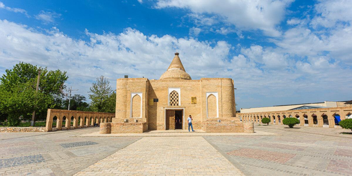 Мавзолей Чашма Аюб в Бухаре