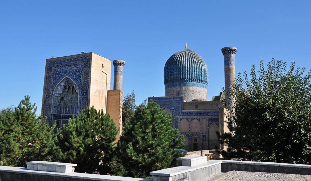 Gur-emir Mausoleum Samarkand