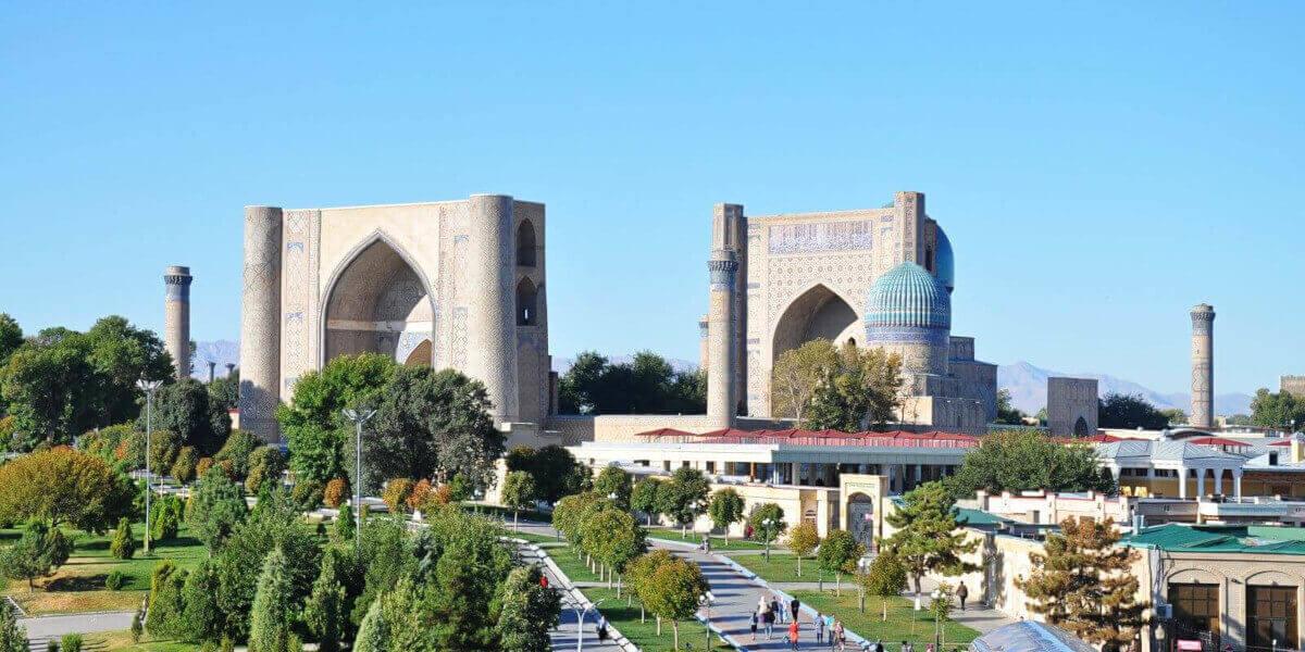 Мечеть Биби-Ханум. Самарканд