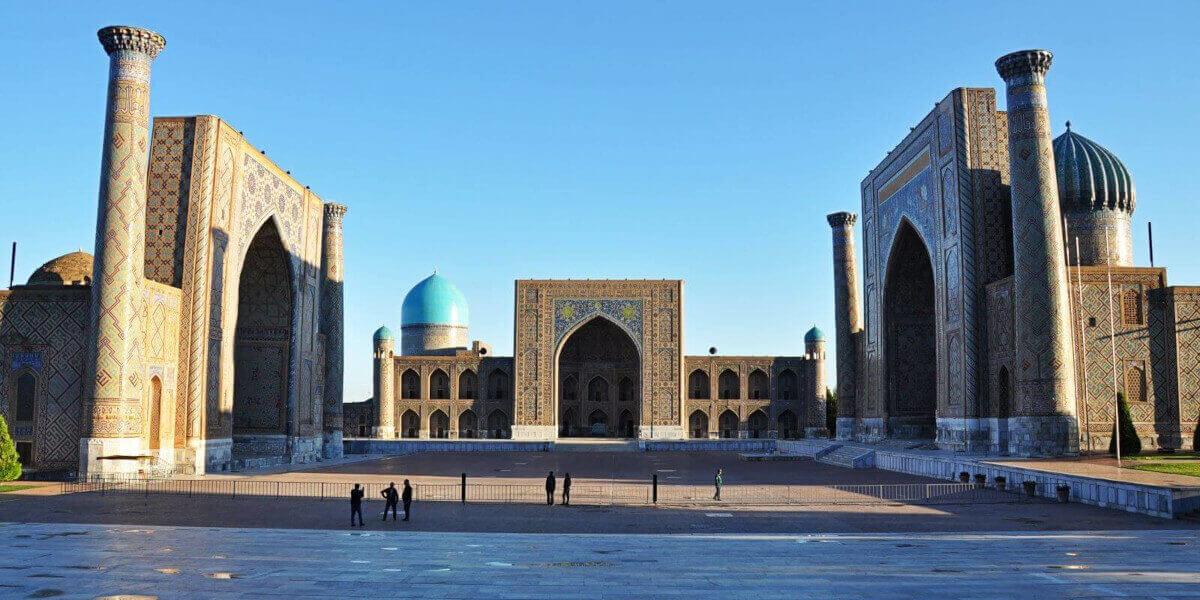 Площадь Регистан. Самарканд