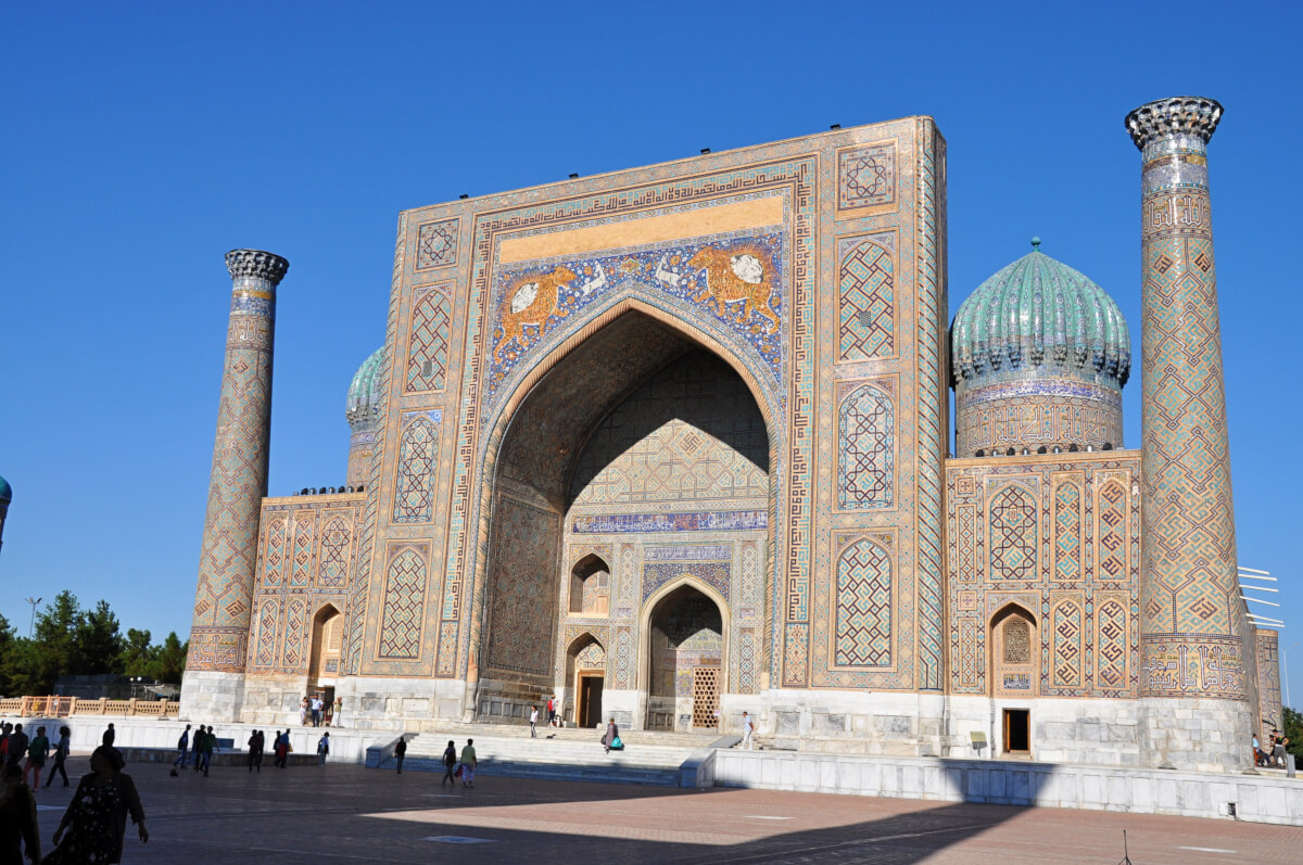 Sher-Dor madrese Samarkand