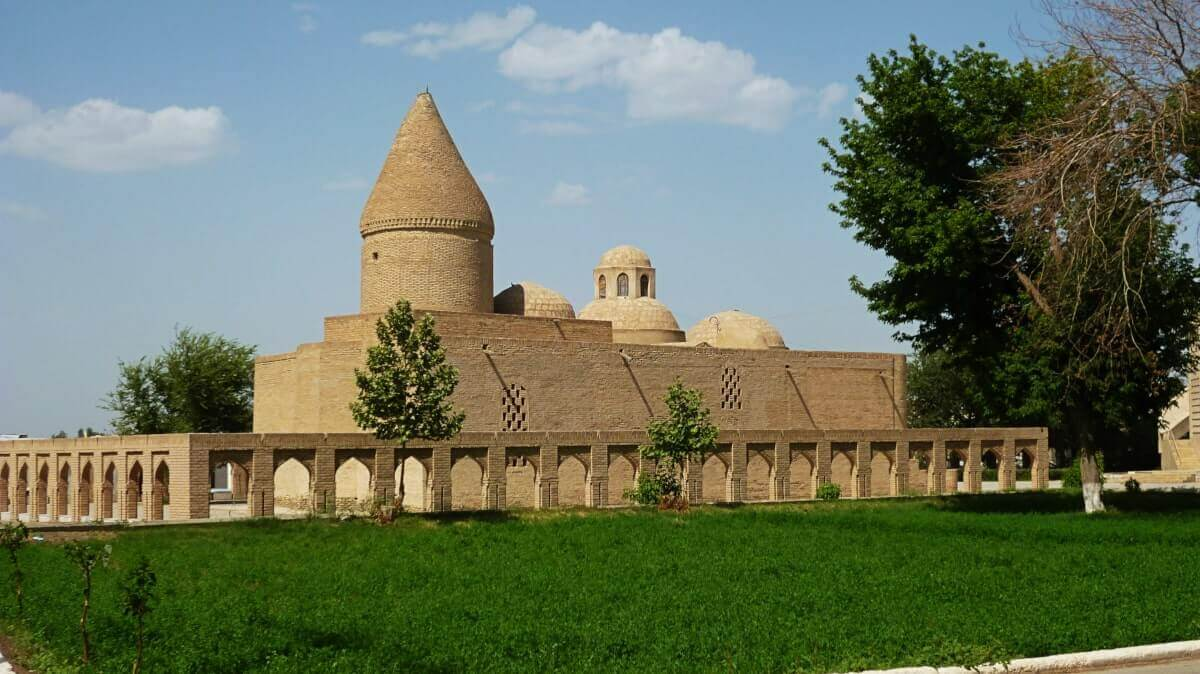 Chashma Ayub mausoleum Bukhara