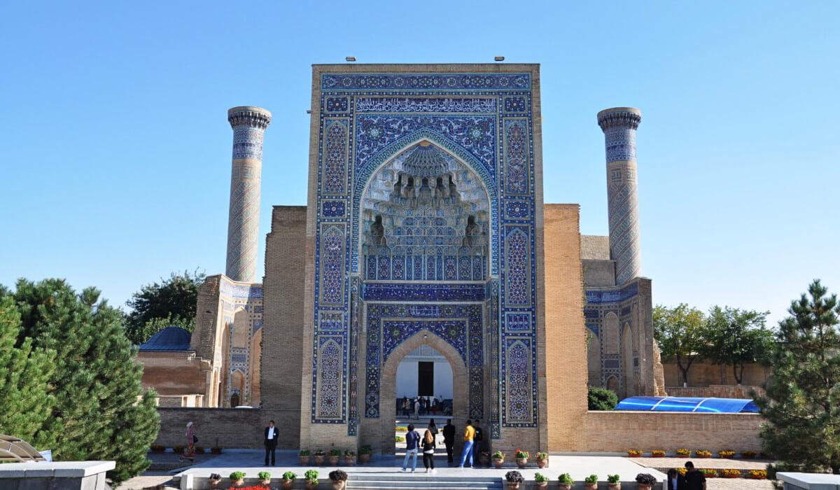Gur-emir entrance, Samarkand