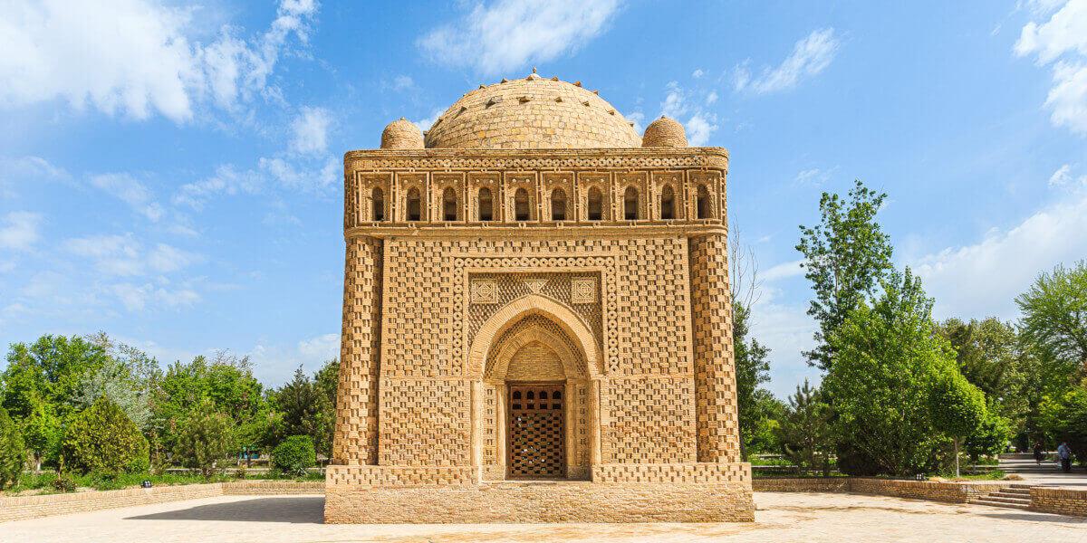 Ismail Samani mausoleum Bukhara