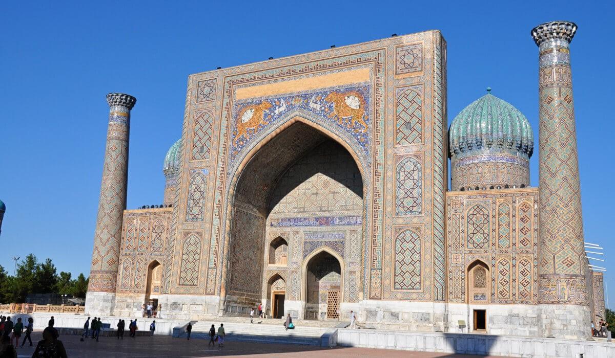 Sher-Dor madrasah, Samarkand Adras Travel