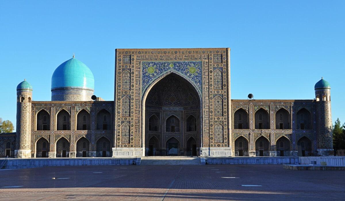 Tillya Kori Madrasah in Samarkand