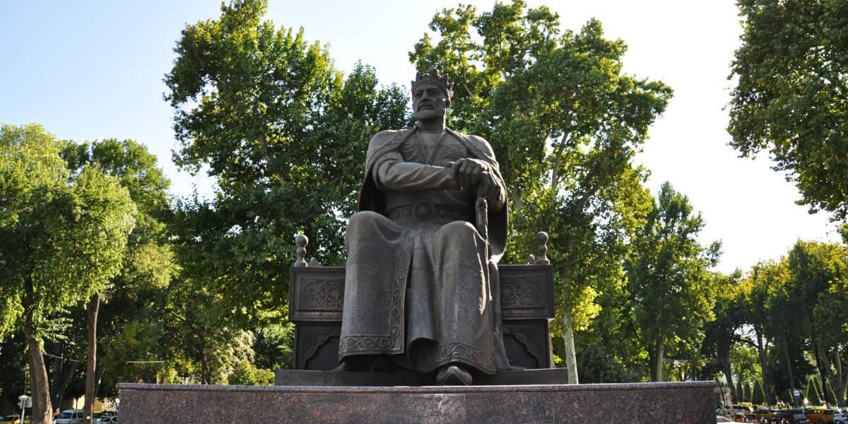 Памятник Тамерлану, Самарканд